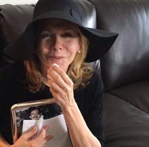 grieving widow